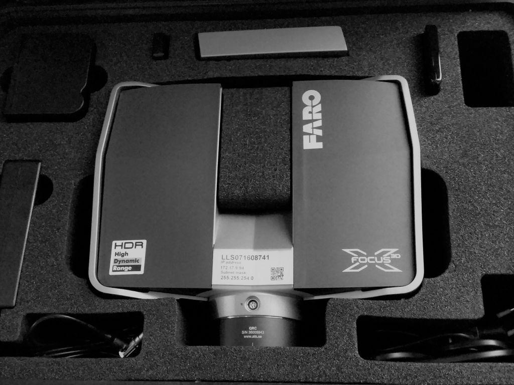 Scanner Faro Focus 3D HDR