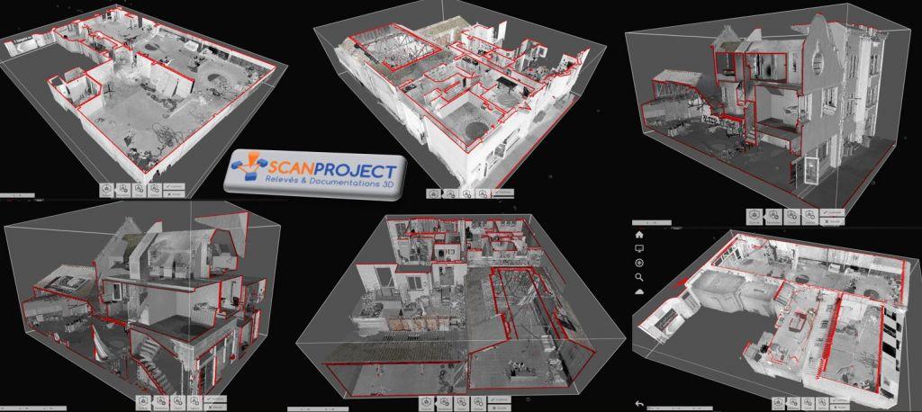 Relevé 3D bâtiment