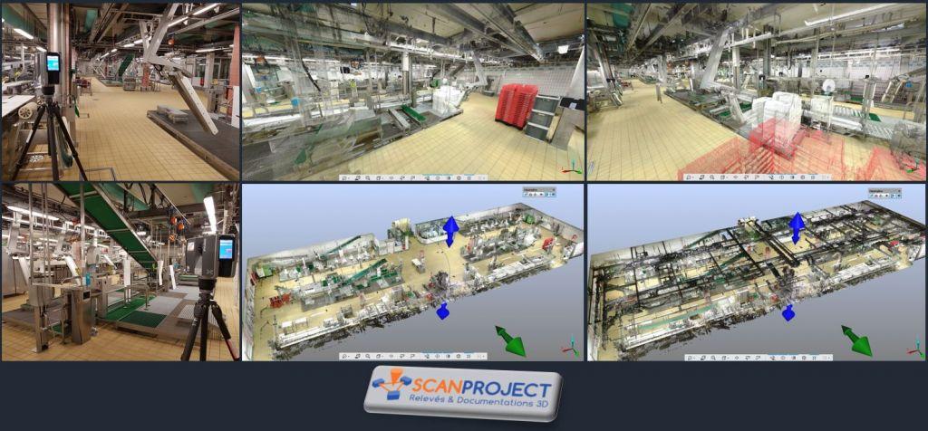 Relevé 3D de proces industriel