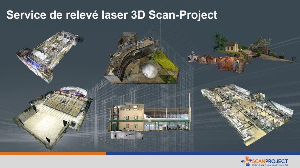 Services de capture 3D