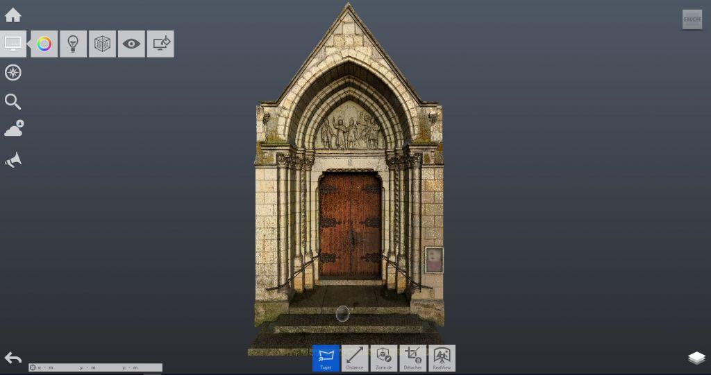 Relevé 3D de façade