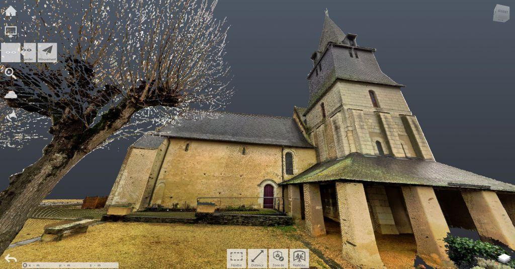 Relevé 3D d'une église