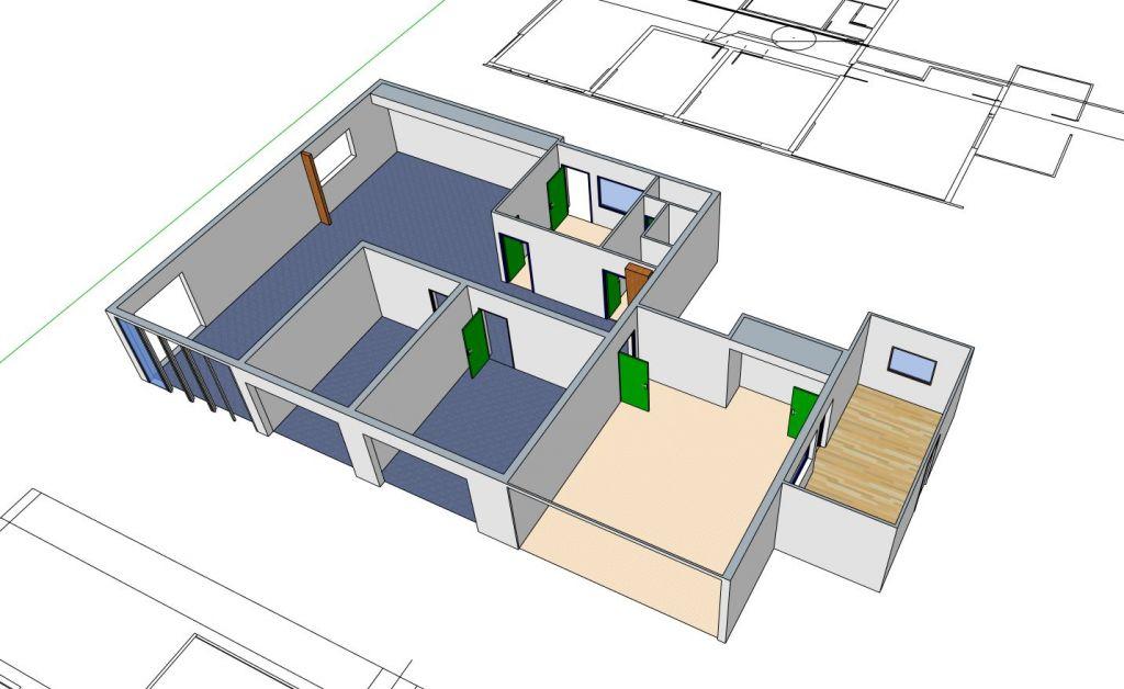 Modélisations de bureaux